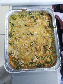 Gratin de brocolis /min 2 pièces