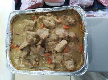 Blanquette de veau cuisinée